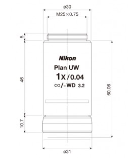 Nikon CFI Plan Achro 1x