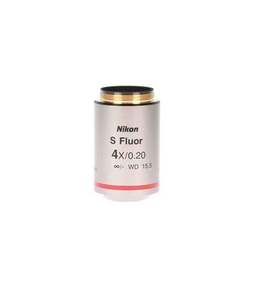Nikon CFI Plan Super Fluor 4x