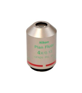 Nikon CFI Plan Fluor PH 4x