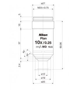 Nikon CFI Plan Achro 10x