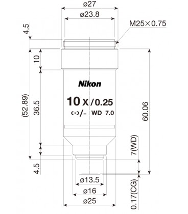 Nikon CFI Achro 10x