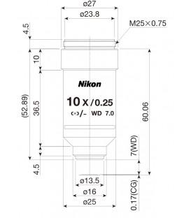 Nikon CFI R-DS 10x