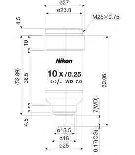 Nikon CFI Achro 10x POL