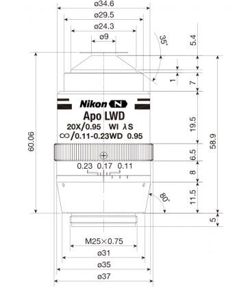 CFI Plan Apo Lambda S 20XC LWD