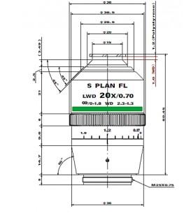 Nikon CFI S Plan Fluor 20xC LD