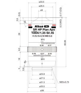 Nikon Lambda S 100XC Sil