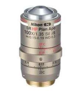 Nikon CFI SR HP Plan Apochromat Lambda S 100XC Sil