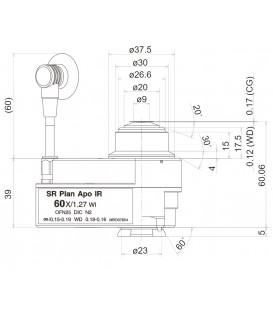 CFI SR Plan Apochromat IR 60XAC WI