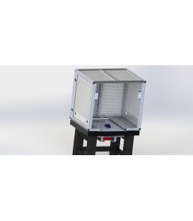 Table et cage sur mesure