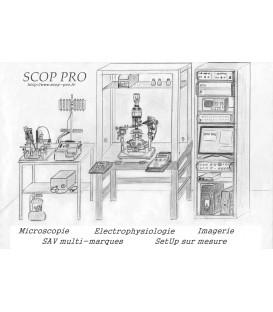 Poste d'électrophysiologiie